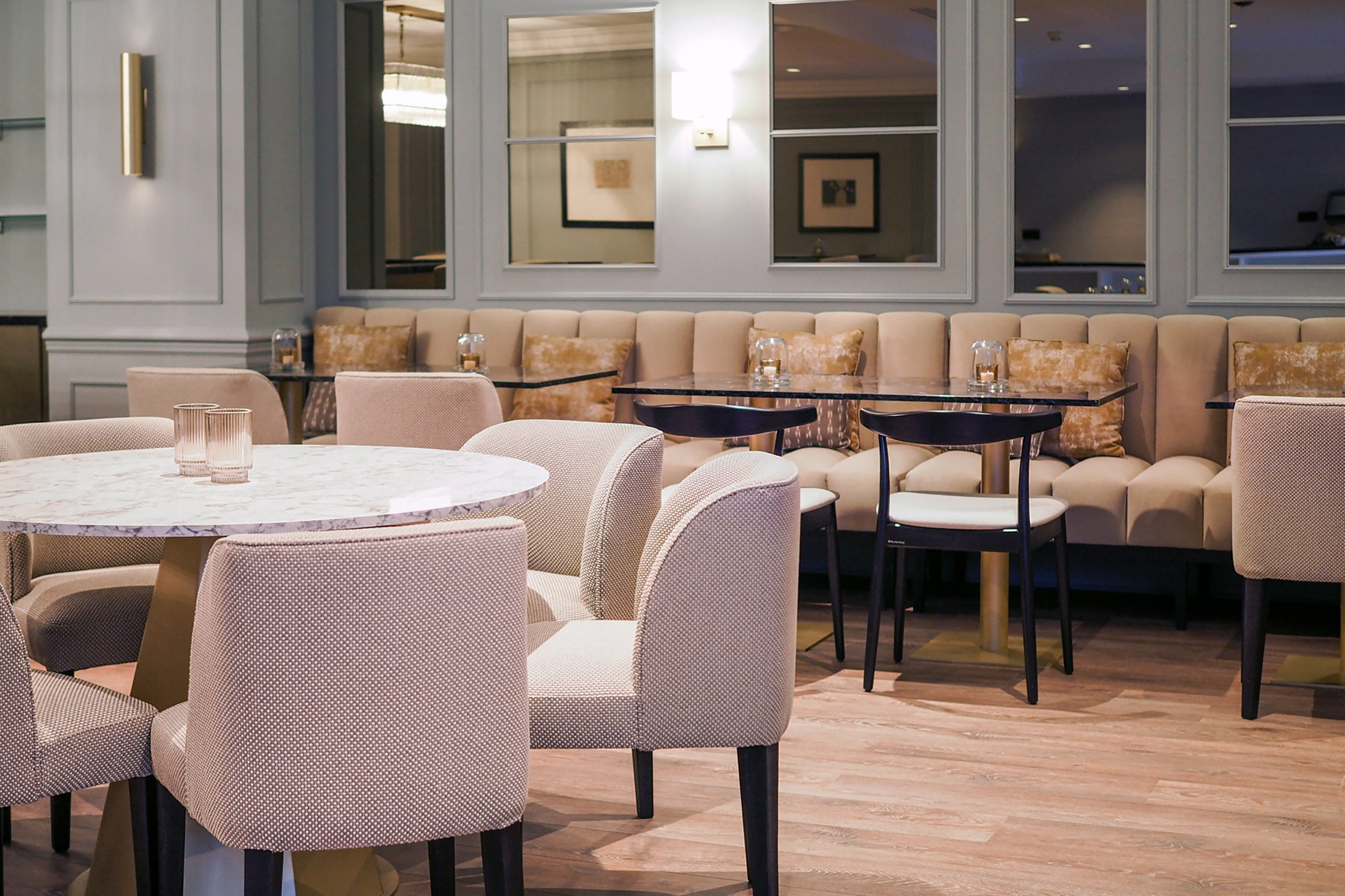 Bar Lounge of the Hotel Avenue Louise Brussels, Trademark Collection by Wyndham